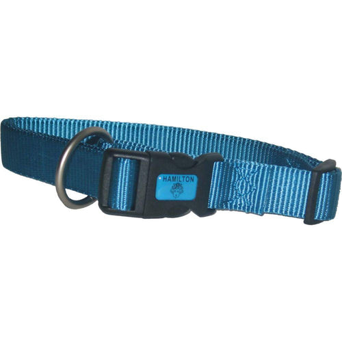 Adjustable Dog Collar (Size 1 X 18-26 In. Color Ocean.)