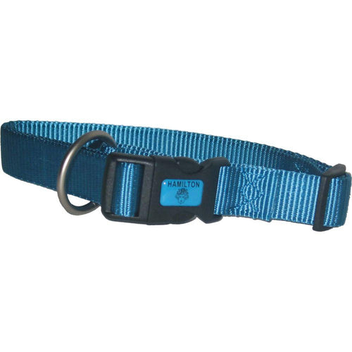 Adjustable Dog Collar (Size 5/8 X 12-18 In. Color Ocean.)