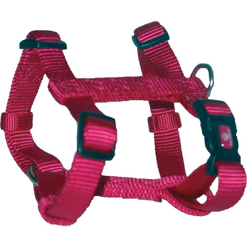 Adjustable Dog Harness (Extra Small. Pink.)