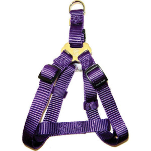 Adjustable Easy On Dog Harness (Size 3/4 X 20-30 In. Purple.)