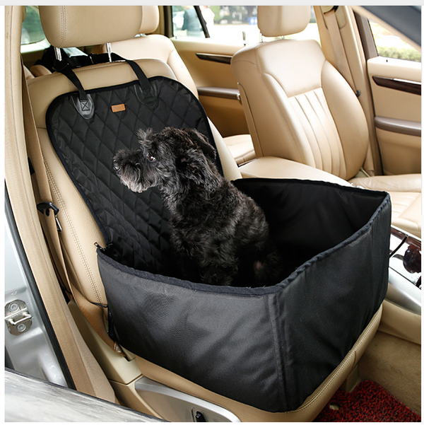 Deluxe Pet Car Seat - FOR SMALL DOGS black