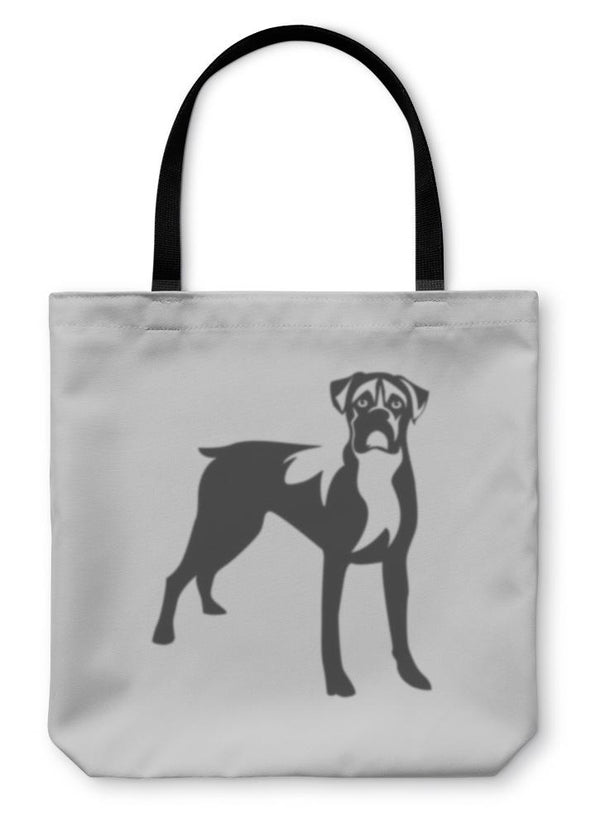 "Boxer Dog Tote Bag 13"" inches wide"