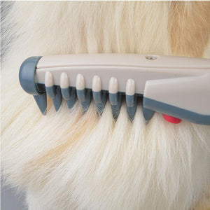 Electric Pet Grooming Hair Comb Detangler