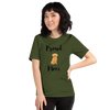 Proud Retriever Mom T-Shirt Olive S