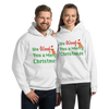 We Woof You A Merry Christmas Poodle Hoodie