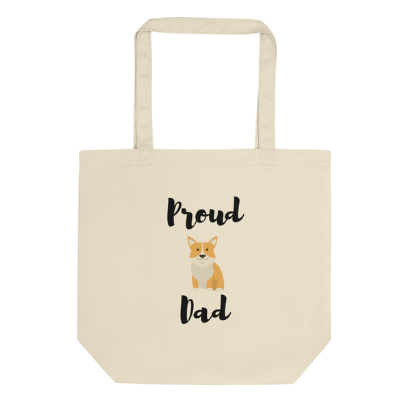 Proud Corgi Dad Tote Bag