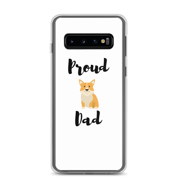 Proud Corgi Dad Samsung Case Samsung Galaxy S10