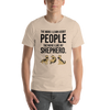 The More I Like My Shepherd Men's T-Shirt Heather Dust S