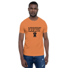 All Men Created Equal Dachshund T-Shirt Burnt Orange XS