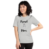 Proud Husky Mom T-Shirt Athletic Heather S