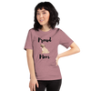 Proud Pug Mom T-Shirt Heather Orchid S