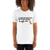 All Women Created Equal Beagle T-Shirt White XS