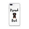 Proud Dachshund Dad iPhone Case