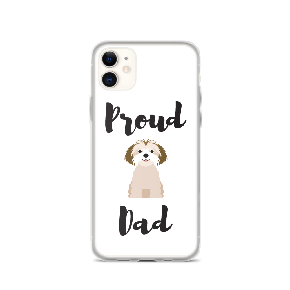 Proud Shih Tzu Dad iPhone Case