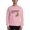 All Men Created Equal Lab Sweatshirt Light Pink S