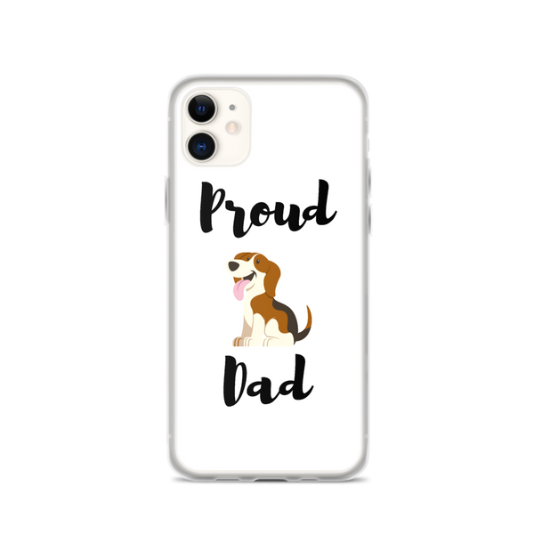 Proud Beagle Dad iPhone Case
