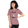 Proud Husky Mom T-Shirt Heather Orchid S