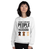The More I Like My Dachshund Women's Sweatshirt White S