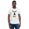 Proud Rottweiler Dad T-Shirt White XS