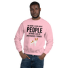 The More I Like My Jack Russel Terrier Men's Sweatshirt Light Pink S