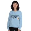 All Women Created Equal Beagle Sweatshirt Light Blue S