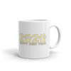 Yellow Happy New Year 2020 Mug