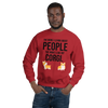 The More I Like My Corgi Men's Sweatshirt Red S