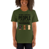 The More I Like My Dachshund Women's T-Shirt Olive S