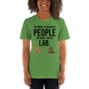 The More I Like My Lab Women's T-Shirt Leaf S