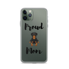 Proud Rottweiler Mom iPhone Case