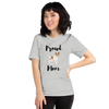 Proud Jack Russel Terrier Mom T-Shirt Athletic Heather S