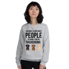 The More I Like My Dachshund Women's Sweatshirt Sport Grey S