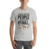 The More I Like My Pitbull Men's T-Shirt Athletic Heather S