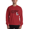 All Men Created Equal Husky Sweatshirt Red S