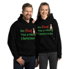 We Woof You A Merry Christmas Pitbull Hoodie