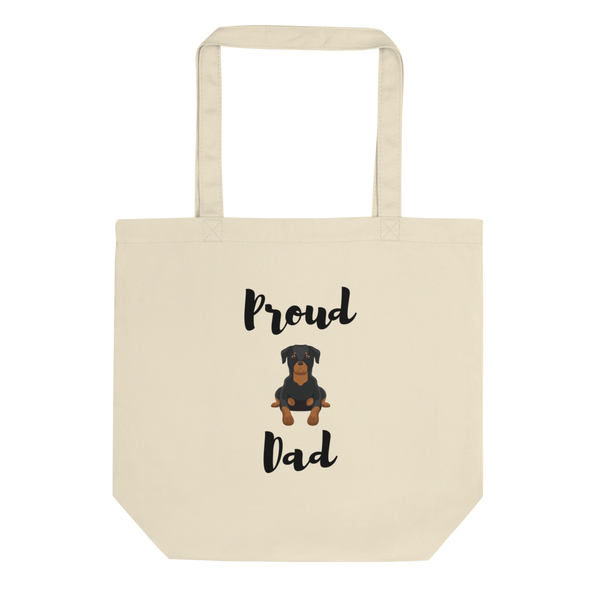 Proud Rottweiler Dad Tote Bag