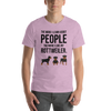 The More I Like My Rottweiler Men's T-Shirt Heather Prism Lilac XS