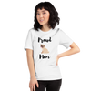 Proud Pug Mom T-Shirt White XS