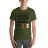 The More I Like My Dachshund Men's T-Shirt Olive S