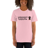 All Women Created Equal Dachshund T-Shirt Pink S