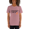 All Women Created Equal Poodle T-Shirt Heather Orchid S