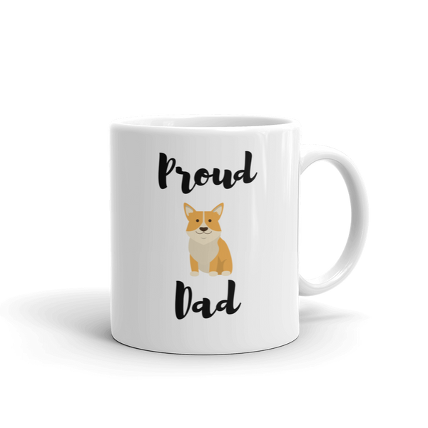 Proud Corgi Dad Mug