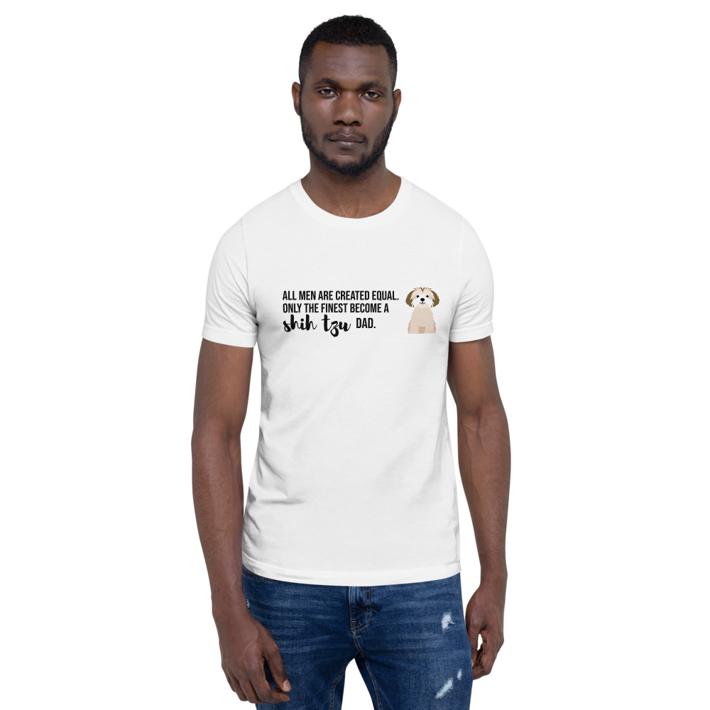 All Men Created Equal Shih Tzu T-Shirt