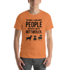 The More I Like My Rottweiler Men's T-Shirt Burnt Orange XS