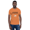 All Men Created Equal Jack Russel Terrier T-Shirt Burnt Orange XS