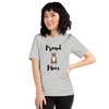 Proud Pitbull Mom T-Shirt Athletic Heather S