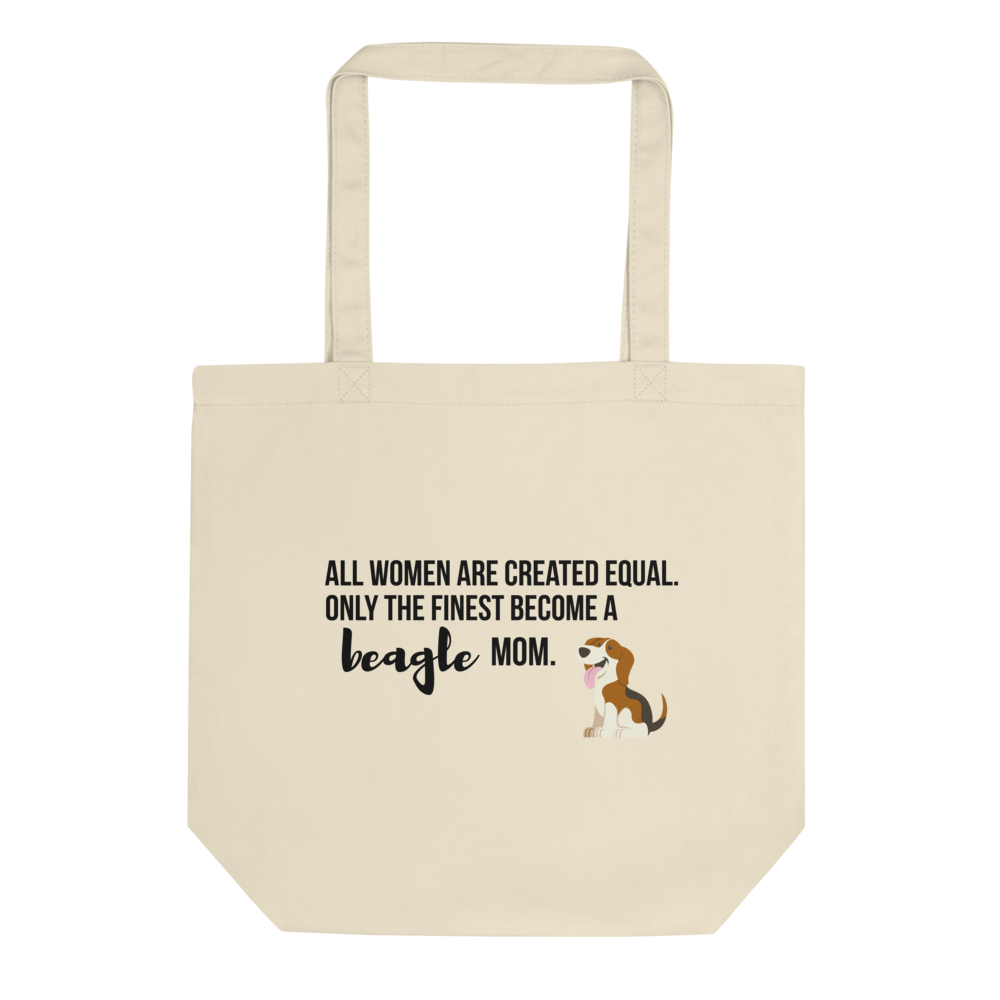 All Women Created Equal Beagle Tote Bag