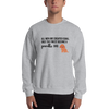 All Men Created Equal Poodle Sweatshirt Sport Grey S