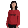 All Women Created Equal Rottweiler Sweatshirt Red S