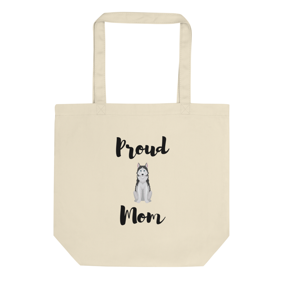 Proud Husky Mom Tote Bag
